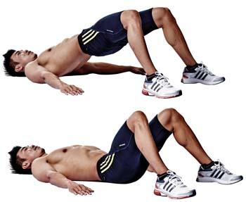 Hip thrust senza pesi