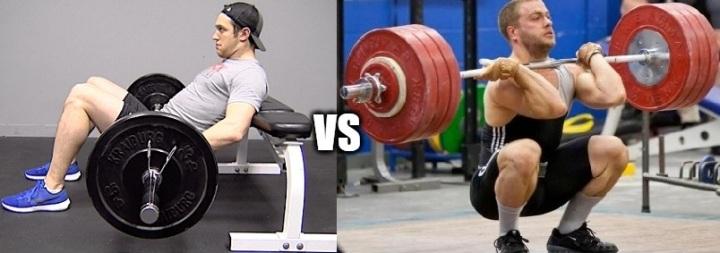 Hip thrust: una valida alterativa allo squat nella preparazioneatletica?